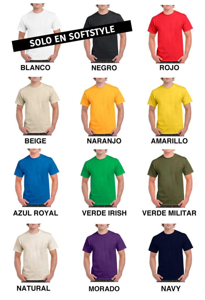 Colores Gildan Heavy Cotton 1